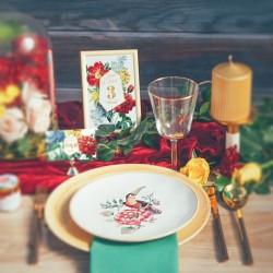KSIĘGA GOŚCI weselnych Kolekcja Flora BIAŁE/CZARNE KARTKI