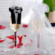 UBRANKA na kieliszki szampana Młoda Para