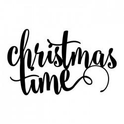 NAPIS dekoracyjny świąteczny Christmas Time