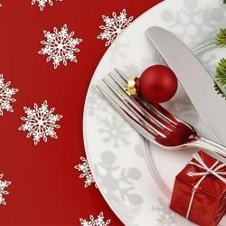 KONFETTI świąteczne Płatki Śniegu 20szt