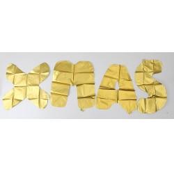 BALONY foliowe złote XMAS 35cm