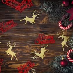 KONFETTI świąteczne Renifery