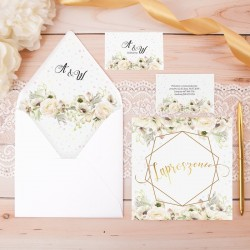 ZAPROSZENIE ślubne personalizowane Sakramento
