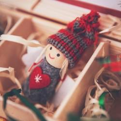 SKRZYNKA prezent świąteczny Zimowa Jarzębina