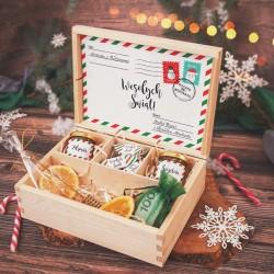 SKRZYNKA prezent świąteczny Mikołajkowa Poczta