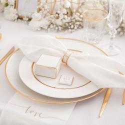 PUDEŁECZKA SERCA personalizowane Only Love 10szt (+etykiety+biały sznureczek)