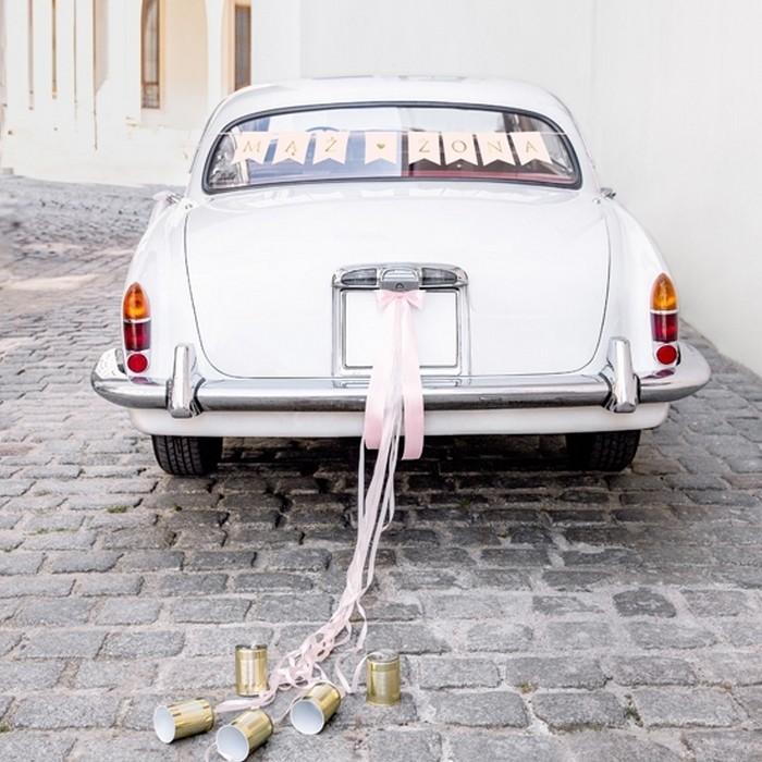 6d74d0e8c87e4c ZESTAW dekoracyjny na samochód Mąż Żona - slubnezakupy.pl