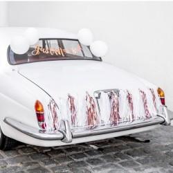 ZESTAW dekoracyjny na samochód Just Married