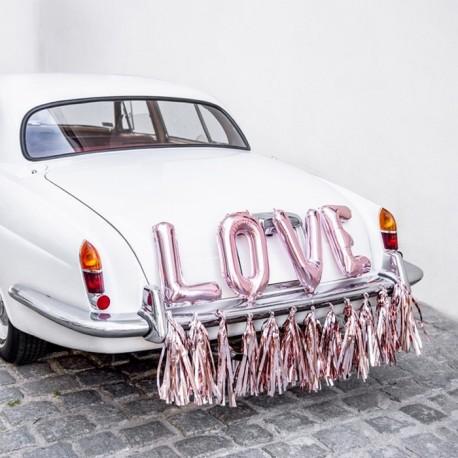 ZESTAW dekoracyjny na samochód Mąż Żona