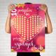 PLAKAT prezent na Walentynki 100 Wspólnych Chwil