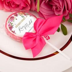 LIZAKI podziękowanie kolekcja ślubna Wedding 10szt (+etykiety+kokardki)