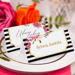 WIZYTÓWKA personalizowana kolekcja ślubna Wedding