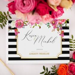 KSIĘGA GOŚCI Ankiety Weselne Wedding Z IMIONAMI aż 100 stron!