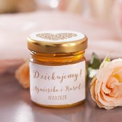 MIÓD personalizowany kolekcja ślubna Wedding (+etykieta)