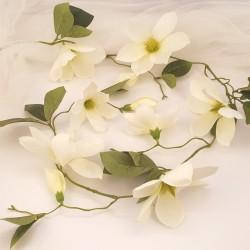 GIRLANDA kwiatowa Magnolie 1,4m