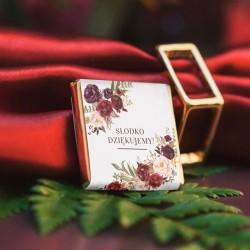 CZEKOLADKA ślubna Kolekcja Marsala