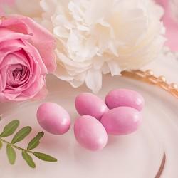 MIGDAŁY w lukrze i czekoladzie Różowe 1KG