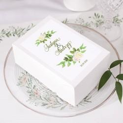 PUDEŁKO na ciasto personalizowane Zielony Wianek 10szt
