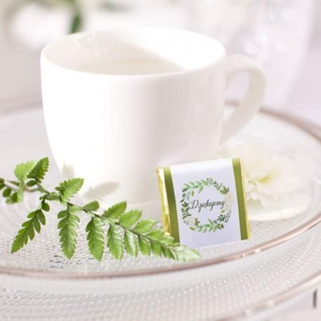 CZEKOLADKA ślubna kolekcja Zielony Wianek
