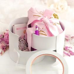 KUFEREK personalizowany PREZENT DLA ŚWIADKOWEJ Charming Pink