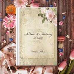 KSIĘGA GOŚCI wspomnienia ślubne Rower Miłości A5