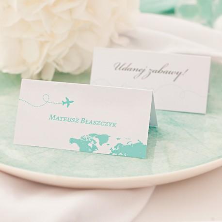 WIZYTÓWKA personalizowana Podróż Poślubna