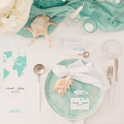 SUKULENT personalizowany na upominek dla gości Podróż Poślubna