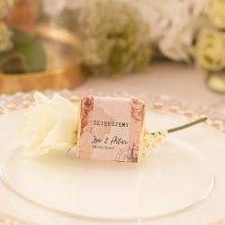 CZEKOLADKA ślubna personalizowana Miesiąc Miodowy