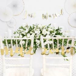 pokrowce i dekoracje krzeseł