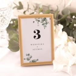 numerki na stoliki weselne