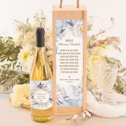 Etykiety i skrzynki na wino
