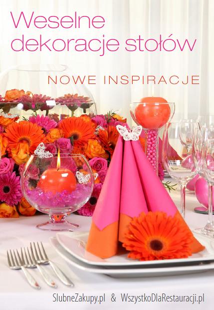 weselne dekoracje stołów