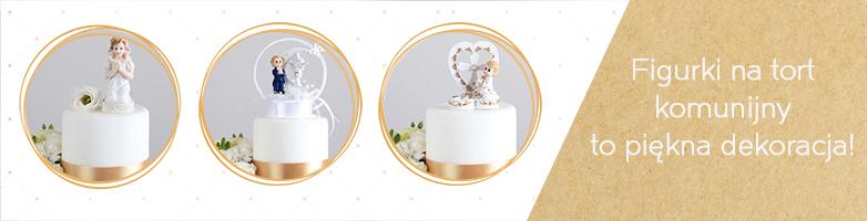 figurki na tort komunijny