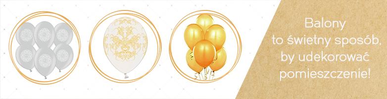 piękne balony komunijne
