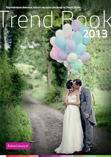 Dekoracje ślubne - TrendBook 2013