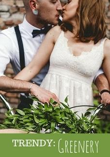 trend greenery śluby wesela