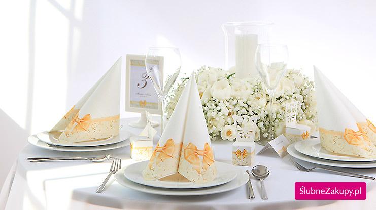 przykłady dekoracji weselnych