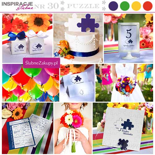 inspiracje na ślub i wesele kolor