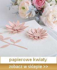 papierowe kwiaty do dekoracji