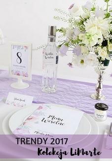liliowe dekoracje trendy