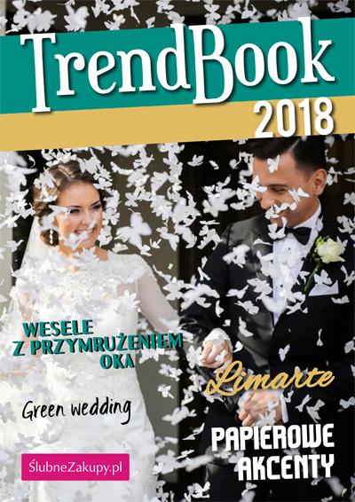 trendbook 2018 dekoracje na ślub i wesele