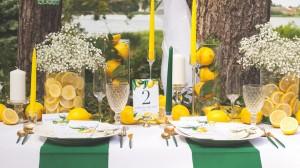 Kolekcja Słoneczna Cytryna w kolorze żółtym. Modne dodatki na wesele.